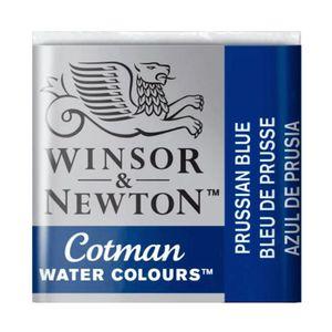 Tinta-Aquarela-Pastilha-Cotman-Winsor---Newton-538-Prussian-Blue