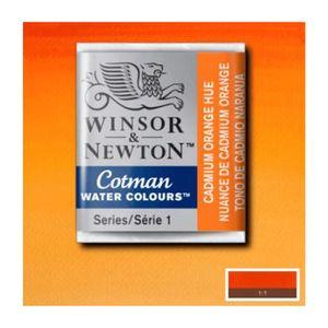 Tinta-Aquarela-Pastilha-Cotman-Winsor---Newton-090-Cadmium-Orange-Hue-1-