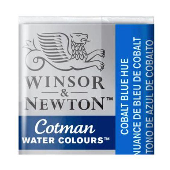 Tinta-Aquarela-Pastilha-Cotman-Winsor---Newton-Cobalt-Blue-Hue-179