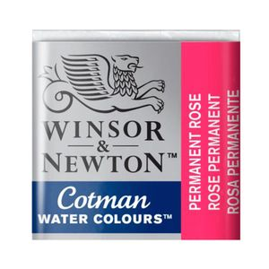 Tinta-Aquarela-Pastilha-Cotman-Winsor---Newton-502-Permanent-Rose