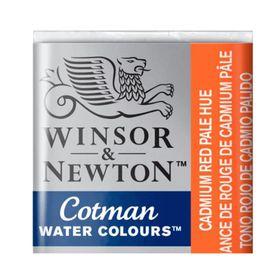 Tinta-Aquarela-Pastilha-Cotman-Winsor---Newton-103-Cadmium-Red-Pale-Hue