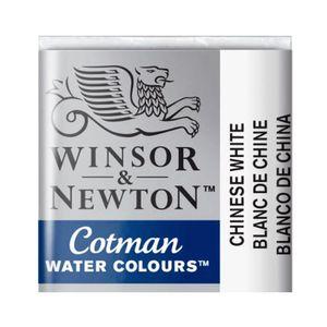 Tinta-Aquarela-Pastilha-Cotman-Winsor---Newton-150-Chinese-White