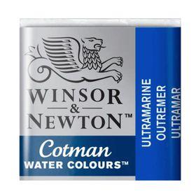 Tinta-Aquarela-Pastilha-Cotman-Winsor---Newton-660-Ultramarine