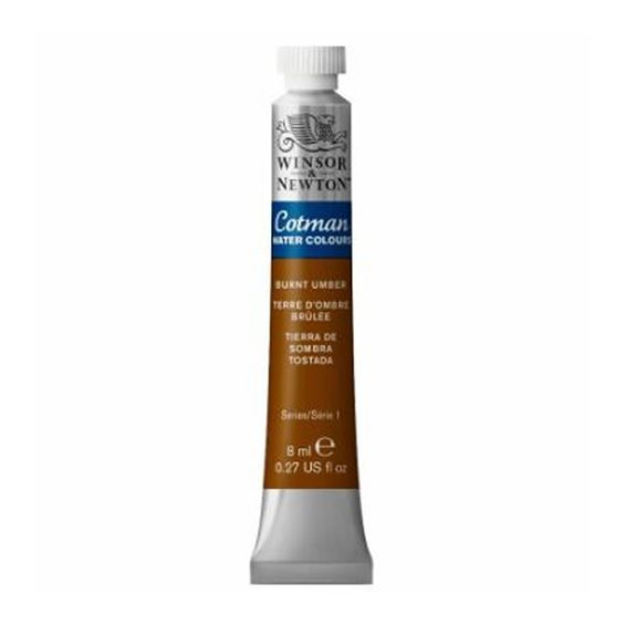 Tinta-Aquarela-Cotman-Winsor---Newton-Tubo-8ml-Burnt-Umber-076