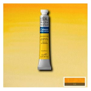 Tinta-Aquarela-Cotman-Winsor---Newton-Tubo-8ml-Gambodge-Hue-266-1-