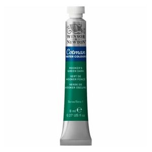 Tinta-Aquarela-Cotman-Winsor---Newton-Tubo-8ml-Hookers-Green-314