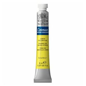 Tinta-Aquarela-Cotman-Winsor---Newton-Tubo-8ml-Lemon-Yellow-Hue-346