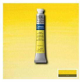 Tinta-Aquarela-Cotman-Winsor---Newton-Tubo-8ml-Lemon-Yellow-Hue-346-1-
