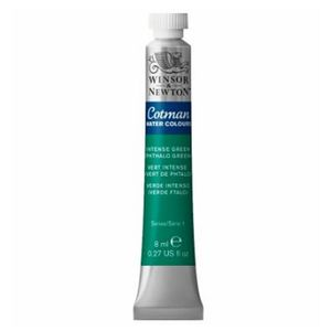 Tinta-Aquarela-Cotman-Winsor---Newton-Tubo-8ml-Intense-Green-329