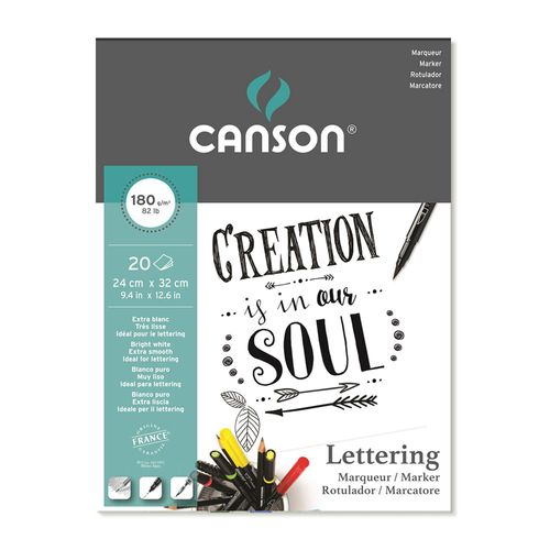 Bloco_Marker_Lettering_Canson_180g_24_x_32_cm_20_Folhas