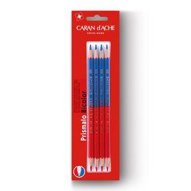 Lapis-Aquarelavel-CarandAche-Prismalo-Bicolor-com-4-unidades-999-304