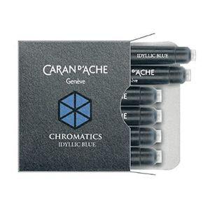 Cartucho-Para-Caneta-Tinteiro-CaranDache-Chromatics-Idyllic-Blue-8021-140