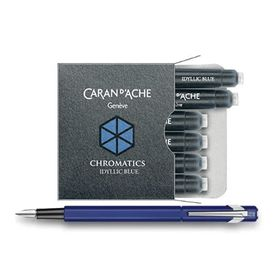 Cartucho-Para-Caneta-Tinteiro-CaranDache-Chromatics-Idyllic-Blue-8021-140-1-