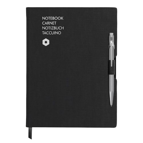 caderno-office-carandache-A6-Canvas-Preto-1-