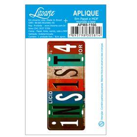 Aplique_MDF_e_Papel_Litoarte_8-x_2_7_cm-Modelo_Placa_Insista_APM8-1166