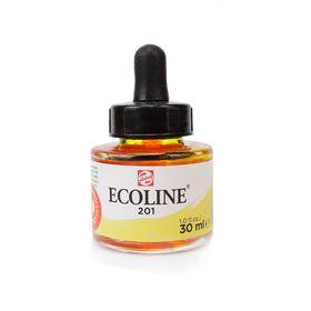 tinta-aquarela-ecoline-talens-light-yellow-amarelo-claro-201