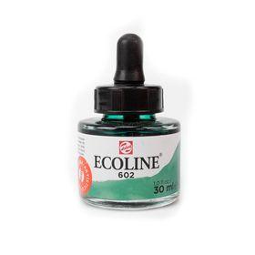 tinta-aquarela-ecoline-talens-deep-green-verde-escuro-602