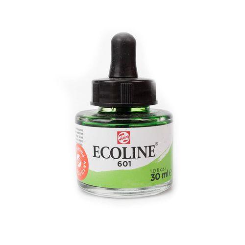 tinta-aquarela-ecoline-talens-light-green-verde-claro-601