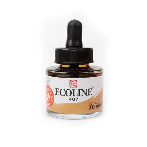 tinta-aquarela-ecoline-talens-deep-ochre-ocre-escuro-407