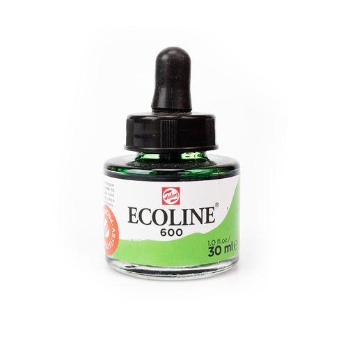 tinta-aquarela-ecoline-talens-green-verde-600