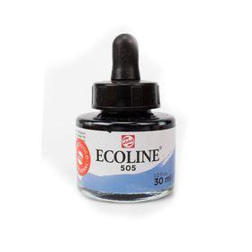 tinta-aquarela-ecoline-talens-ultramarine-light-azul-marinho-claro-505