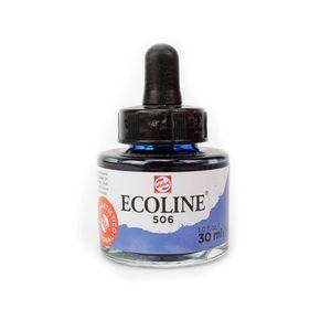 tinta-aquarela-ecoline-talens-ultramarine-deep-azul-marinho-506