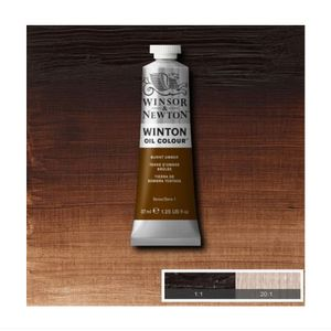 Tinta-Oleo-Winton-Winsor---Newton-37ml-076-Burnt-Umber-2