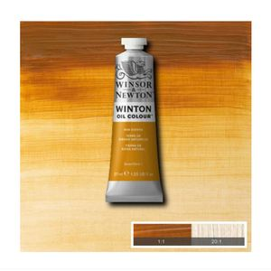 Tinta-Oleo-Winton-Winsor---Newton-37ml-552-Raw-Sienna-2