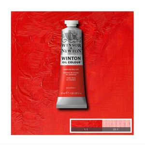 Tinta-Oleo-Winton-Winsor---Newton-37ml-095-Cadmium-Red-Hue-2