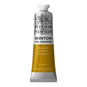 Tinta-Oleo-Winton-Winsor---Newton-37ml-744-Yellow-Ochre-1