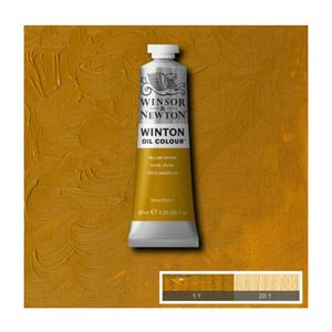 Tinta-Oleo-Winton-Winsor---Newton-37ml-744-Yellow-Ochre-2