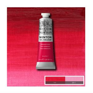 Tinta-Oleo-Winton-Winsor---Newton-37ml-502-Permanent-Rose-2