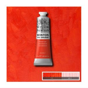 Tinta-Oleo-Winton-Winsor---Newton-37ml-603-Scarlet-Lake-2