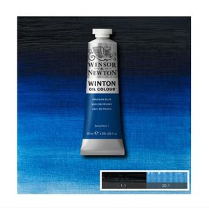 Tinta-Oleo-Winton-Winsor---Newton-37ml-538-Prussian-Blue-2
