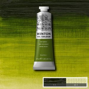 Tinta-Oleo-Winton-Winsor---Newton-37ml-599-Sap-Green-2