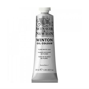 Tinta-Oleo-Winton-Winsor---Newton-37ml-242-Flake-White-Hue-1