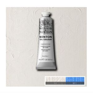 Tinta-Oleo-Winton-Winsor---Newton-37ml-242-Flake-White-Hue-2