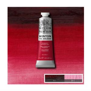 Tinta-Oleo-Winton-Winsor---Newton-37ml-478-Permanent-Crinson-Lake-2