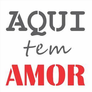 14x14-Simples---Frase-Aqui-tem-Amor---OPA2685