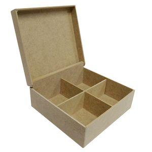 Caixa-de-Cha-com-4-Cavidades-de-MDF-Madeira-Crua---Tamanho-24-x-155-x-07-cm--1-