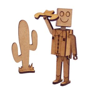 Miniatura-em-MDF-Woodplan-Personagem-Bill-10-x-4-x-2-cm---A125-1