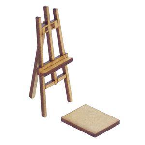 Miniatura-em-MDF-Cavalete-de-Pintura-Woodplan-87-x-33-x-35-cm-–-A105-1