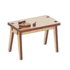 Miniatura-em-MDF-Mesa-Retangular-Woodplan--4-x-6-x-35-cm-–-A106
