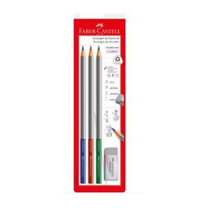 EcoLapis-Graphicolor-Faber-Castell-com-3-Cores-1-Borracha-1