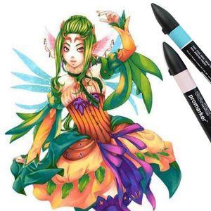 Marcador-Promarker-Winsor---Newton-Manga-Fantasy-13-pecas-2