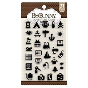Kit-de-Carimbos-de-Silicone-Bo-Bunny-icones-de-viagem-31-pc