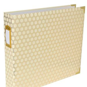 380560-Project-Life-D-Ring-Album-12-inch-X12-inch---Honeycomb-Cream---Gold-3