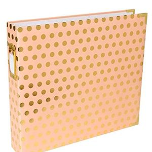 380561-Becky-Higgins---Project-Life---Album---12-x-12-D-Ring---Blush-with-Gold-Dots-3