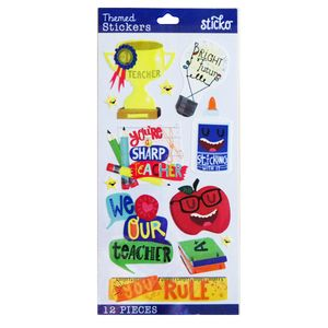 52-38438-Sticko-1-TEACHER---Package-of-Misc-Stickers