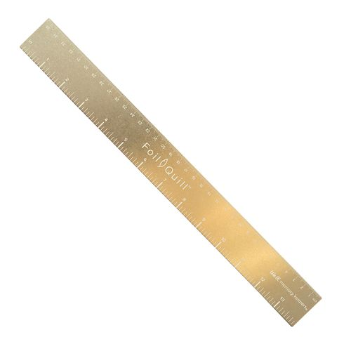 661111-Gold-Magnetic-Ruler-–-14-Inch
